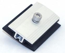 Центральный фиксатор для безрамочных солнечных модулей толщиной 6,8-7,2мм